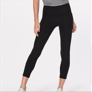 Lululemon all the right places 7/8 leggings size 4
